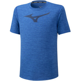 Mizuno Core Graphic RB T-shirt Heren, princess blue